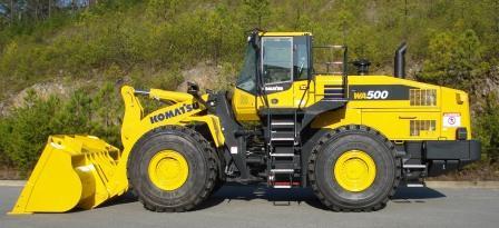 gruppo komatsu  macchine industriali Komatsu_WA500_road_construction_equipment