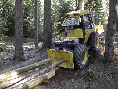 Logging Research Results Comparing Crawler Tractors And